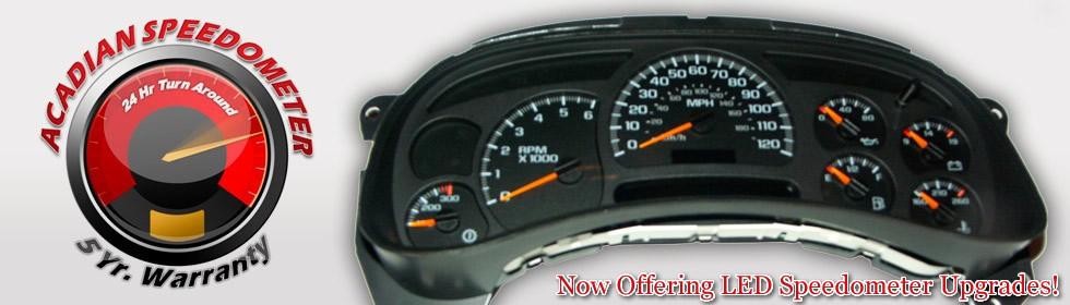 Acadian Speedometer Repair